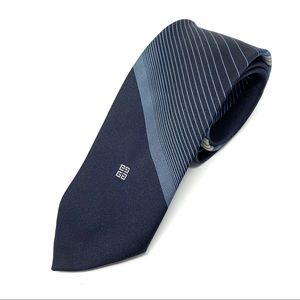 Givenchy | Vintage Imported Polyester Striped Tie
